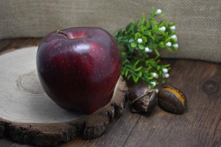 fruitage: Delicious apple fruit