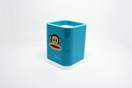 pen holder: The blue paul frank pen holder