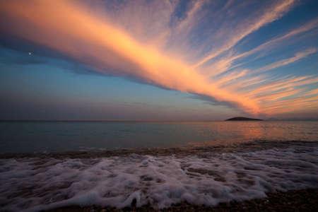 deniz: CLOUD SUNSET BULUT GUNBATIMI SEA DENIZ
