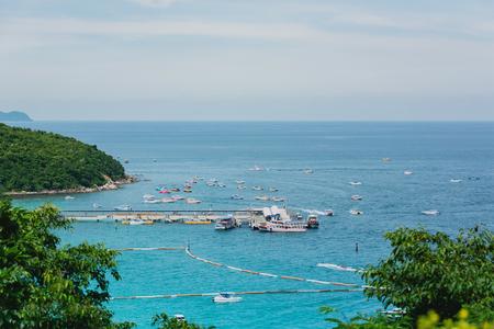 seaboard: Pattaya City, Thailand  Feb 14, 2014 : Ko Lan is one of the eastern seaboard islands of Thailand. Editorial