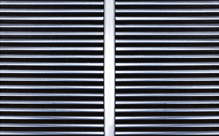 grille: Metal grille pattern for background
