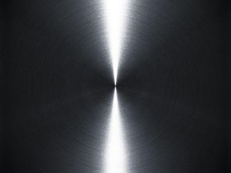 Brushed silver metallic background Stock Photo - 8509872