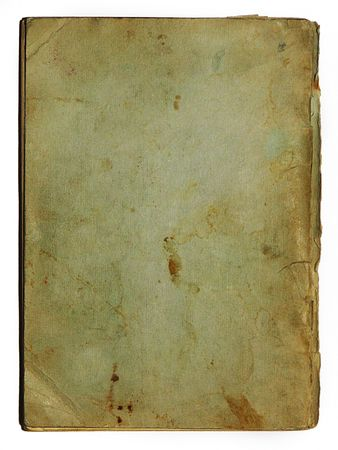 oud document: Old school exercise book cover terug