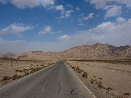 endless: Endless road, Xinjiang, China