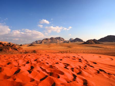 Wadi rum landscape,Jordan