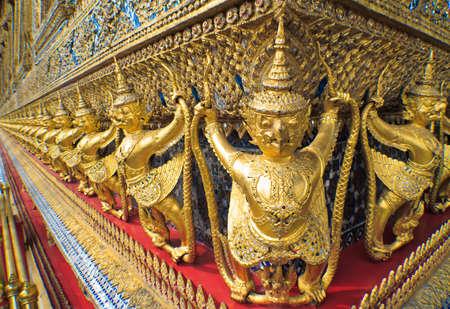 garuda statue of wat Phra kaew, Thailand photo