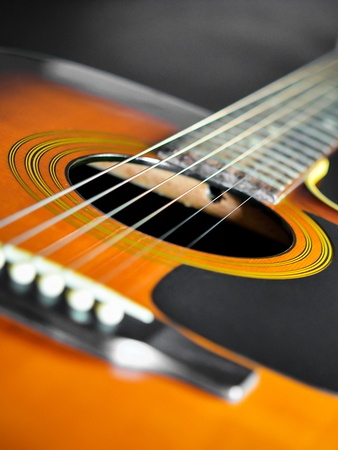 country music: Steel string acoustic guitar