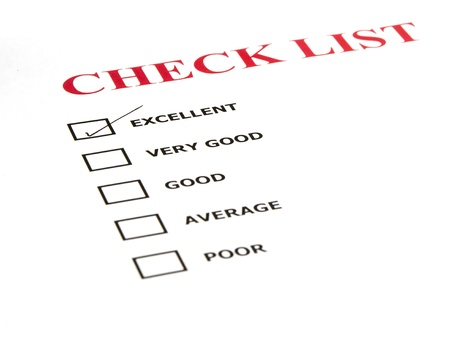 check list with a tick box photo