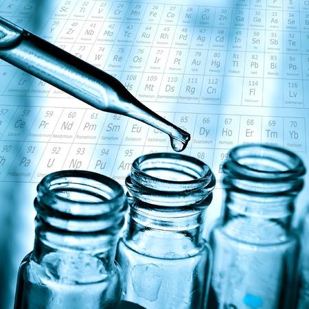medicine instrument: Dropping liquid to test tube, Laboratory