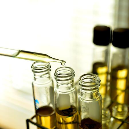 Laboratorium glaswerk Stockfoto - 31764857