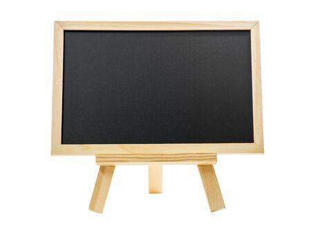 board: blank chalk board isolated Stock Photo