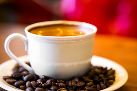 espresso: cup of espresso coffee