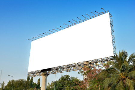 customizable: billboard blank for outdoor advertising poster