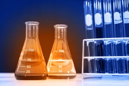 flask: flask and laboratory glassware