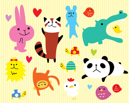 loving animal sticker