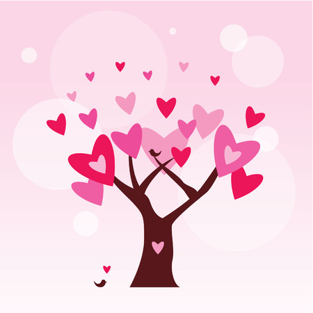 love tree: romantic love tree