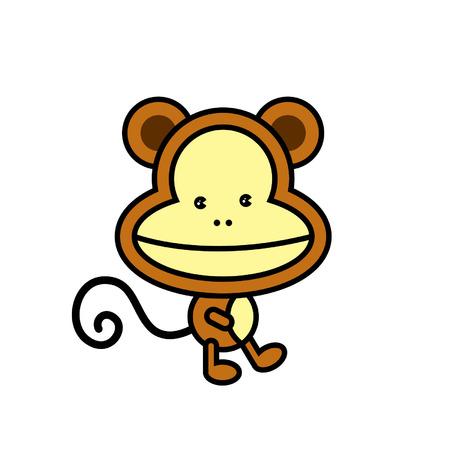 jumping monkeys: monkey icon
