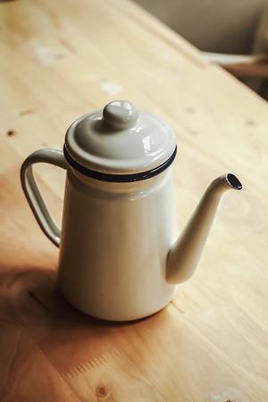 kettles: hervidores Foto de archivo
