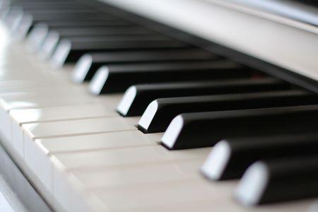 Piano Keys Zdjęcie Seryjne