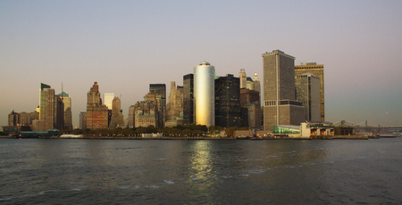 Southmost point of Manhattan, taken from the river
