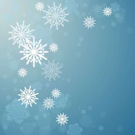 Winter background.New Year. Christmas night with snowfall. Zdjęcie Seryjne