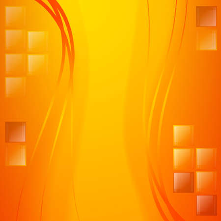 Abstract golden background. Bright colors and waves. Glass details and light. Celebratory background. Zdjęcie Seryjne