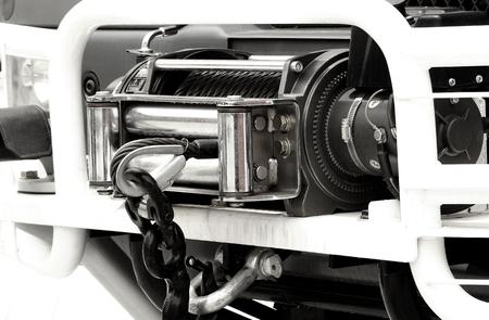 winch: Car winch 0ffroad