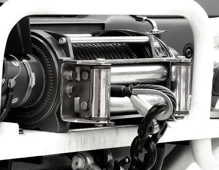 windlass: Car winch 0ffroad