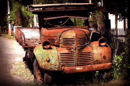 rusts: old trucks rusts and Abandon