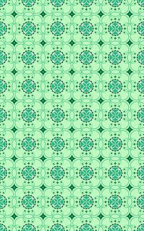 vector background seamless wallpaper- graphic flower green