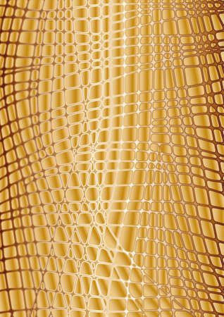 reptile skin: vector texture gold reptile skin editable and scalable