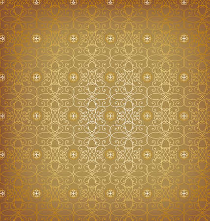 abstract seamless texture background gold Stock Vector - 9467595