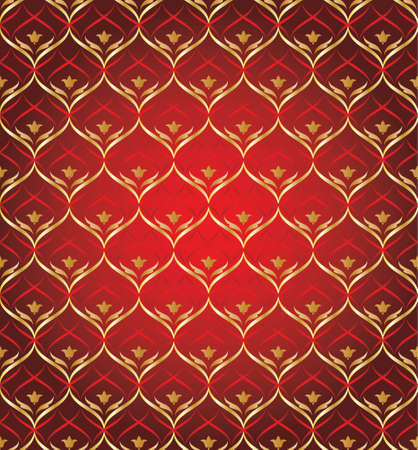 textured wall: wallpaper seamless texture red and gold