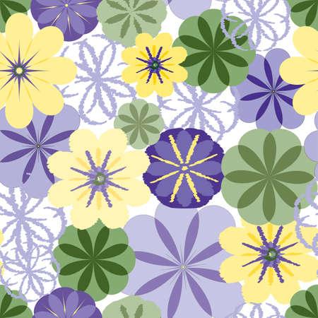 seamless textured flower wallpaper background