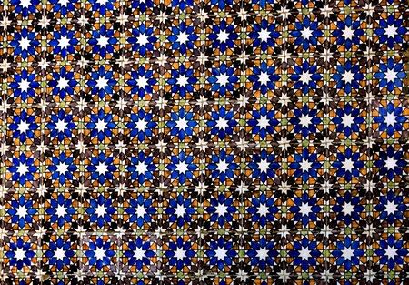 Tradicional portugal old tiles - azulejos photo