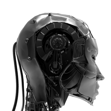 Technoorgirl  ,A mechanical ,cold and electronic version of women
