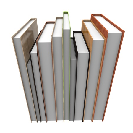 Illustration of Books,notebook illustration