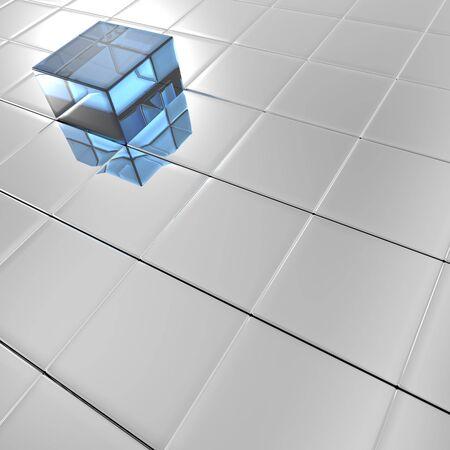 A geometrical background Stock Photo