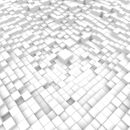 3D cubes background Stock Photo - 19736596