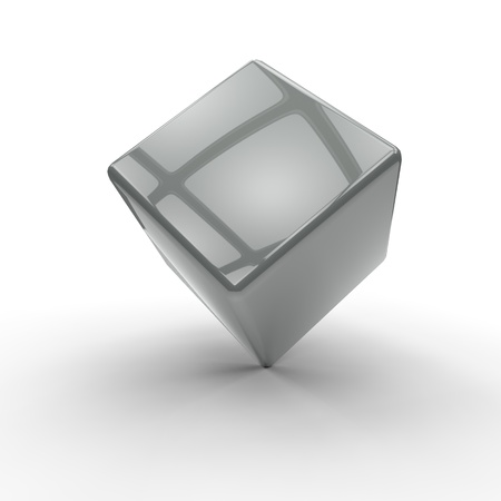 3D cubes background Stock Photo - 19736494