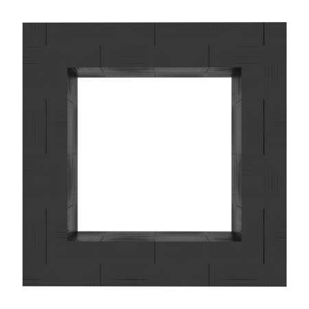 nylon:  Frame background black nylon Stock Photo