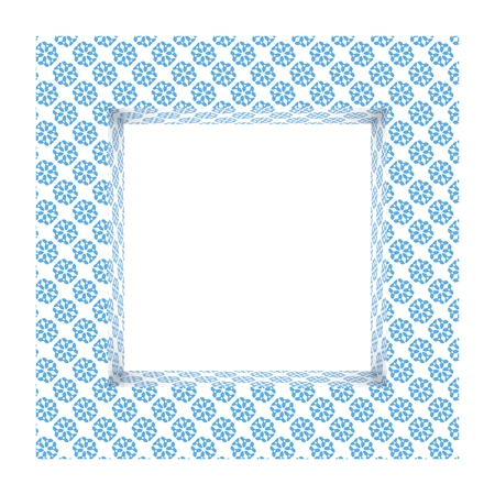Frame background porcelain Stock Photo