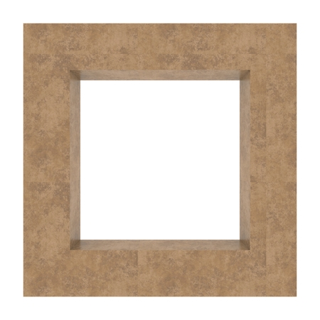 Frame background tavertine Stock Photo