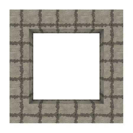 Frame background tiled concrete