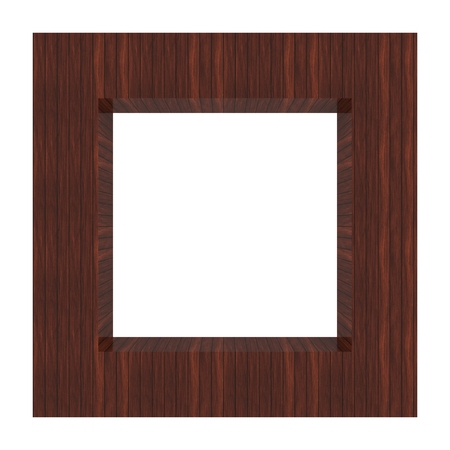 Abstract frame background wood Stock Photo