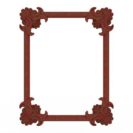 Frame background antic metal grung