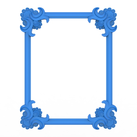 antic: Antic frame background design Stock Photo