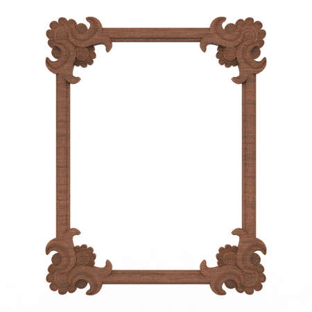 frame background antic wood