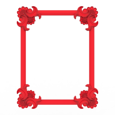Antic frame background design Stock Photo