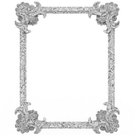 antic Frame background marble
